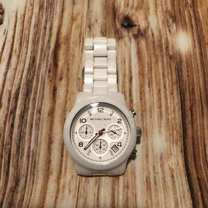 White Michael Kors Watch